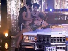 Streets of the urban city are cruel. Michelle Wild and Nikki Montana are the survivors of the city and they give some joy tot he police officer in order to evade the arrest!