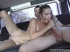 A hot-ass skinny bitch with juicy titties and BLONDE just the way I like them, hit play and check this hardcore scene out!