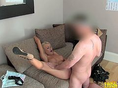 Naughty fake agent lures slutty girls into hardcore sex and fucks her hard and deep, caughting the whole thing in camera, you can't miss it!