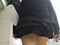 Everytime it is super exciting to watch these horny Asian girls and their miniskirts! They have dripping wet panties and want you to fuck them so bad!