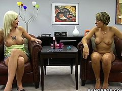 These two kinky MILFs are going to have lots of fun playing with different sex toys in this lesbian video.