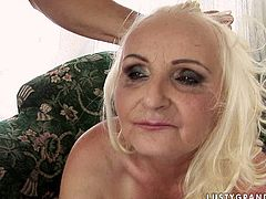 Check out this steamy 21 Sextury xxx clip, if you're a fan of horny old sluts. This booty oldie with blond hair, big ass and too droopy boobs is mad about being fucked doggy and groans of delight madly.
