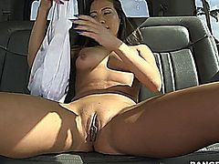 Kalina took over the bus today to find some lucky fuckers to serve her some young cock! Well of course that's never hard any dude just takes a peak inside and automatically jump in no questions. We manage to get her fucked real good but in the end the freak in her wanted so much more than what we found so we went right back on the hunt. Come see what happens! ENJOY!
