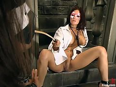 Tory Lane is going to have some of the kinkiest sex out there with a long-haired dude in this BDSM video.