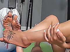 Bella Reese - Foot Master Angel Footjob