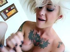 Jonni Darkko and Kleio Valentien have fun