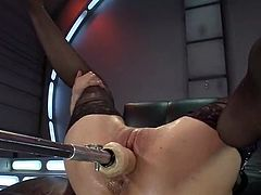 Cytherea uses playthings for cumming