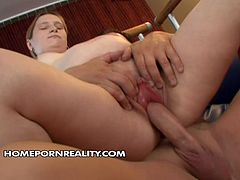 Pregnant girlfriend rides her boyfriend intensively. Later he penetrates her pinkish pussy in doggy style position. Watch exciting pregnant sex video produced by 21 Sextury site.