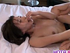 Superb Kaho Kasumi enjoys the full package