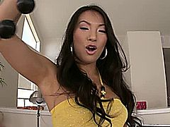ASA AKIRA SETS IT OFF ASS USUAL WITH HER SEXY ASIAN ASS.. GET IT? ASS,