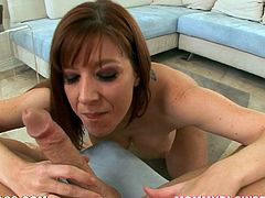 This smoking hot and sexy milf Lexi Lamour is so damn beautiful! She gets naked and starts driving you crazy with her blowjob skills!