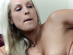 Are you seeking for satisfaction? Then you're more than welcome to enjoy Babes sex clip. Kinky busty blondie wears only black heels. Gorgeous cutie with flossy rounded ass tickles her wet shaved pussy all alone for multiple orgasm tonight.