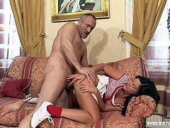 Slutty Madison Parker gets rammed by older man