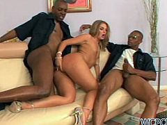 Make sure you check out super hot big ass slut Brianna Love! She got her pussy and ass destroyed by two policemen with big dongs!