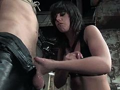 See the bondage, face sitting, pegging and female domination action in this video featuring the naughty Penny Flame.