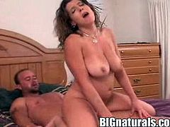 Check out this super hot hardcore scene with this arousing slut as she takes it balls deep into her fucking gash. It's fucking awesome!