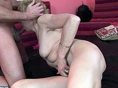 Sex greedy daddy hooks up with his grannie's best friend. He forces an ardent grandma get undressed before she clings to his sturdy cock to give a thorough blowjob in steamy sex video by 21 Sextury.