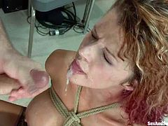 She comes to her gynecologist, complaining to some discomfort in her pussy. He solves the problem together with his assistant in a BDSM double penetration!