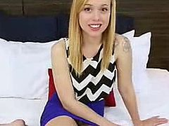 Teens DoPorn Bubbly young blonde wanting to be a pornstar 1