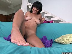 Click here and be ready for unforgettable sex experience with juicy brunette harlot who has huge melons for your pleasure. She plays with her assets and dreams of meaty cock.
