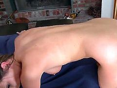 Victoria Lawson spends her sexual energy with hard dicked guy Chris Johnson