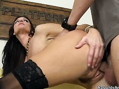 India Summer turns Dane Cross on to the point of no return before they fuck hard