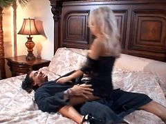 Check out this motherfucking awesome hardcore fuck scene with this boner-giving blonde whore, it's fucking good stuff man!