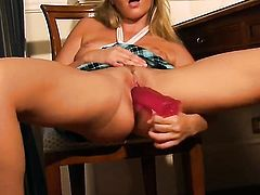 Cherry Jul with clean muff is ready to fuck six ways from Sunday to satisfy her anal desires