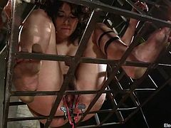 Curly Raven Rockette gets her tits hit with electricity by Bobbi Starr. Later on she also get her pussy tortured and toyed with an electric dildo.