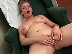Sexy slut loves when she is home alone and she can not wait to be naked and place her fingers in her twat and enjoy in awesome masturbation.