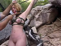 This smoking hot and sassy siren Jenni Lee is going to be humiliated so fucking hard! She gets naked and tortured so fucking hard.