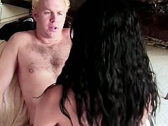 Cunt is licked by that horny dude and this nasty slut is ready to enjoy in that hardcore fucking, she need to make that cock prepared with her mouth.