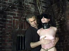 The girl in this video is going to be extremely tied up and severely toyed so she can be exhausted with forced orgasms.