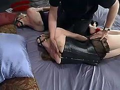Two smoking hot and charming honeys Adrianna Nicole and Lorelei Lee are being tortured so fucking hard. They get hogtied and ball gagged.