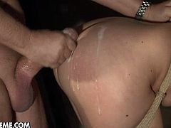Busty anita blue tortured in dungeon