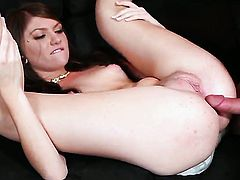 Cassandra Nix getting throat stuffed for your viewing pleasure