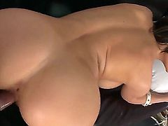 Chick with nice boobies and butt Aletta Ocean just loves to be banged wildly! Today you have a chance of looking at how she is sucking fat rod of man before sex in doggie.