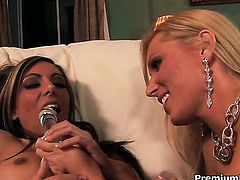 Lela Star can't wait to be tongue fucked her lesbian lover Diana Doll