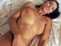 Big tits young beauty feels intense pressure pounding her juicy twat in hardcore