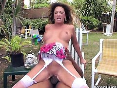Margo Sullivan has some dirty sex fantasies to be fulfilled with hard cocked fuck buddy