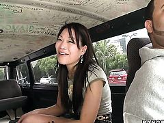 Oriental Jen Li is a handjiob addict and cant live a day without rubbing boner with her hands