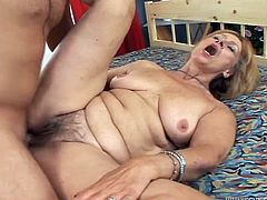 She is so fucking slutty and so hungry! So, lady gives her lover a nice blowjob and then he fucks her! What attracts is her sexperience.