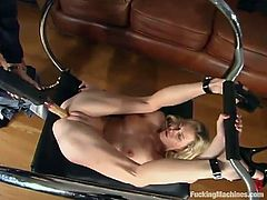 This amazing and sizzling babe Phoenix tortures RAM and then makes him run the fucking machine in between her legs. Meanwhile, babe takes his cock in her mouth!
