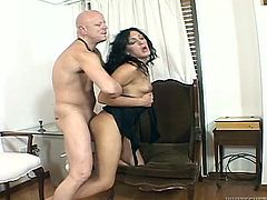 Don't skip exciting shemale Fame Digital XXX video featuring hot doggy style bonk. Lustful brunette ladyboy gets her gorgeous ass drilled hard in doggy style position.