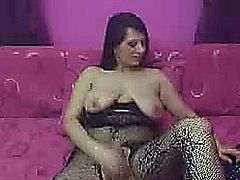 Busty shemale will surprise you how big and hard her cock is. Perfect round tits seen from this hot tranny on her live webcam as she exposed it by doing striptease.