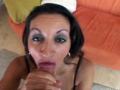 Sex with an amazing milf in a POV style