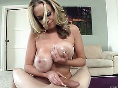 Katie Kox finds her mouth filled with dudes rock solid love torpedo