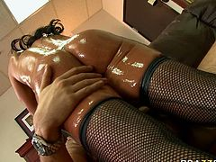 This horny slut got a call from her client and came to his house in her tight and sexy outfit to get fucked in her asshole really hard.Watch her butthole being penetrated by her customer in Brazzers Network sex clips.