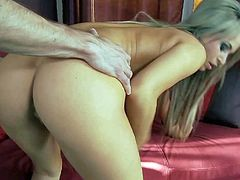 Aleska Diamond is a really beautiful babe that loves hard sex so much. This beauty goddess give deep blowjob to her lover and then takes his love bone in her fuck box. Watch Aleska Diamond get shagged.