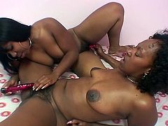 Newbie pussy toying ebony lesbian whores are promising us the ultimate show. With their perverted ways and hot bodies, they certainly can survive on their own and satisfy their cravings.